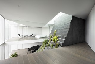 A Gigantic Staircase Sweeps Through the Heart of This Tokyo Home