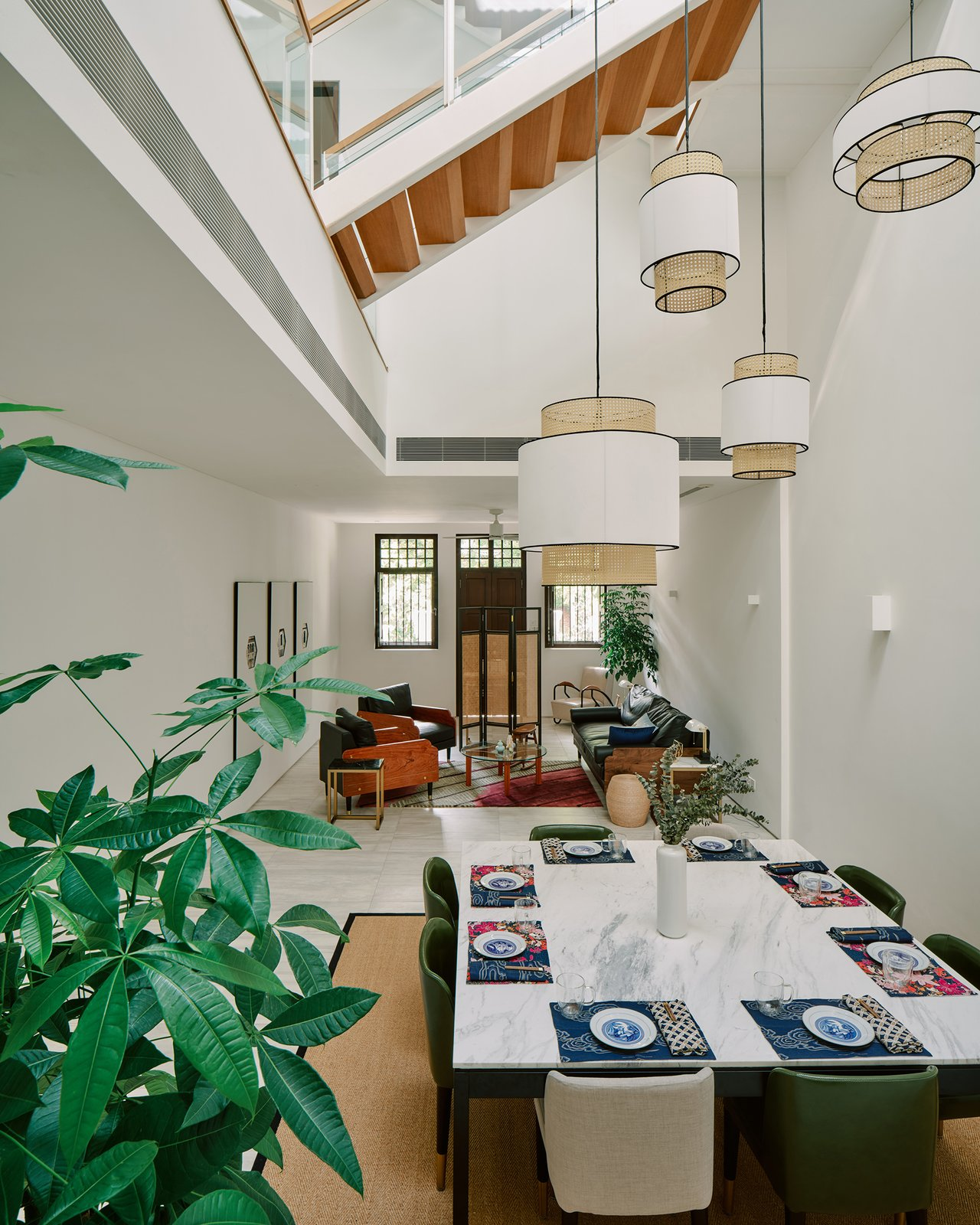 Case Study Homes by Figment Shang House, old and new, shophouse, heritage building