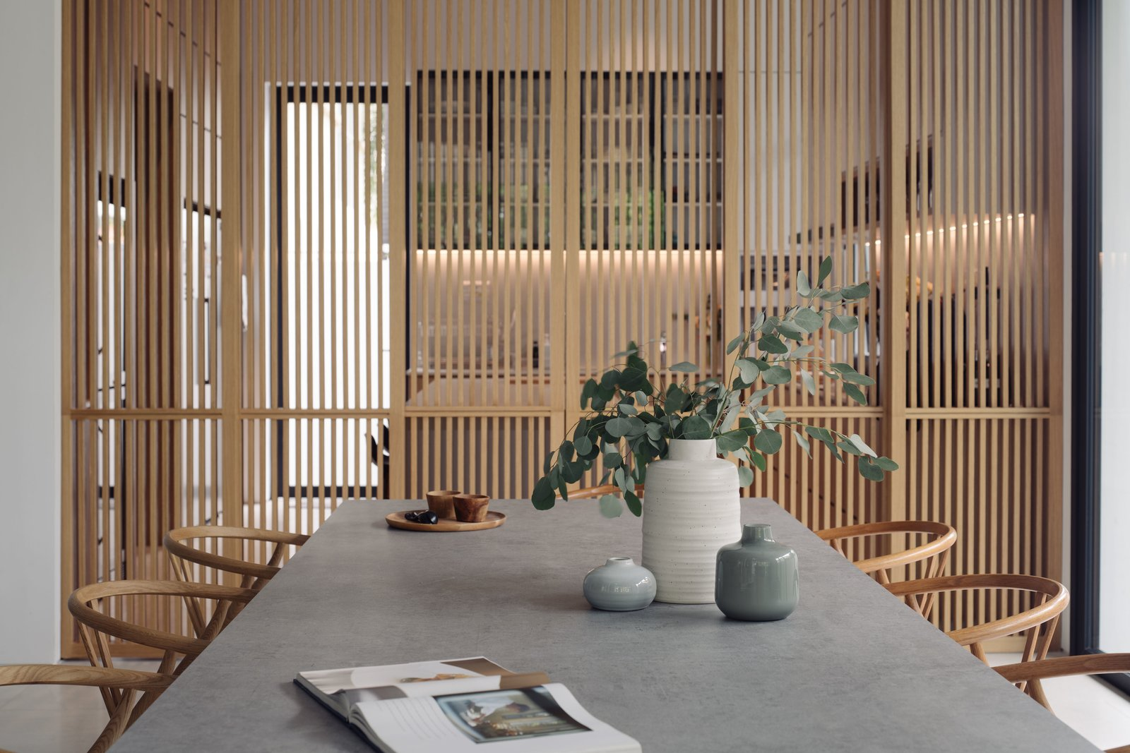 House 25 by Park + Associates Dining Room