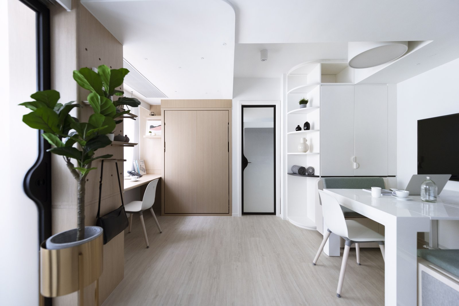These Chic Apartments in Hong Kong Will Actually Make You Want to Live Where You Work