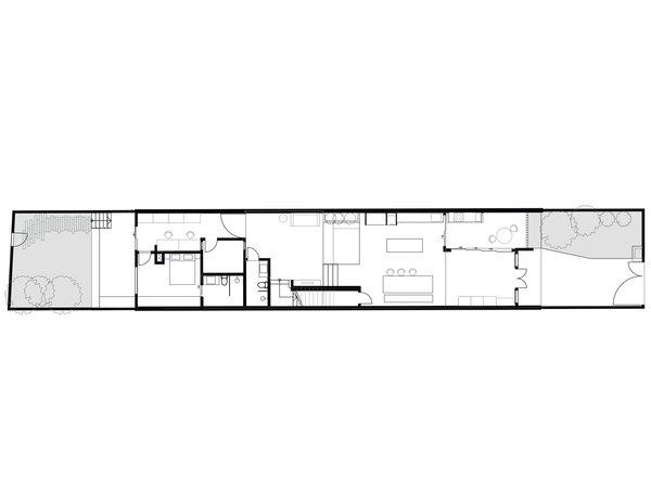 Heng House first floor plan
