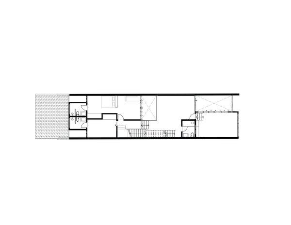 Heng House second floor plan
