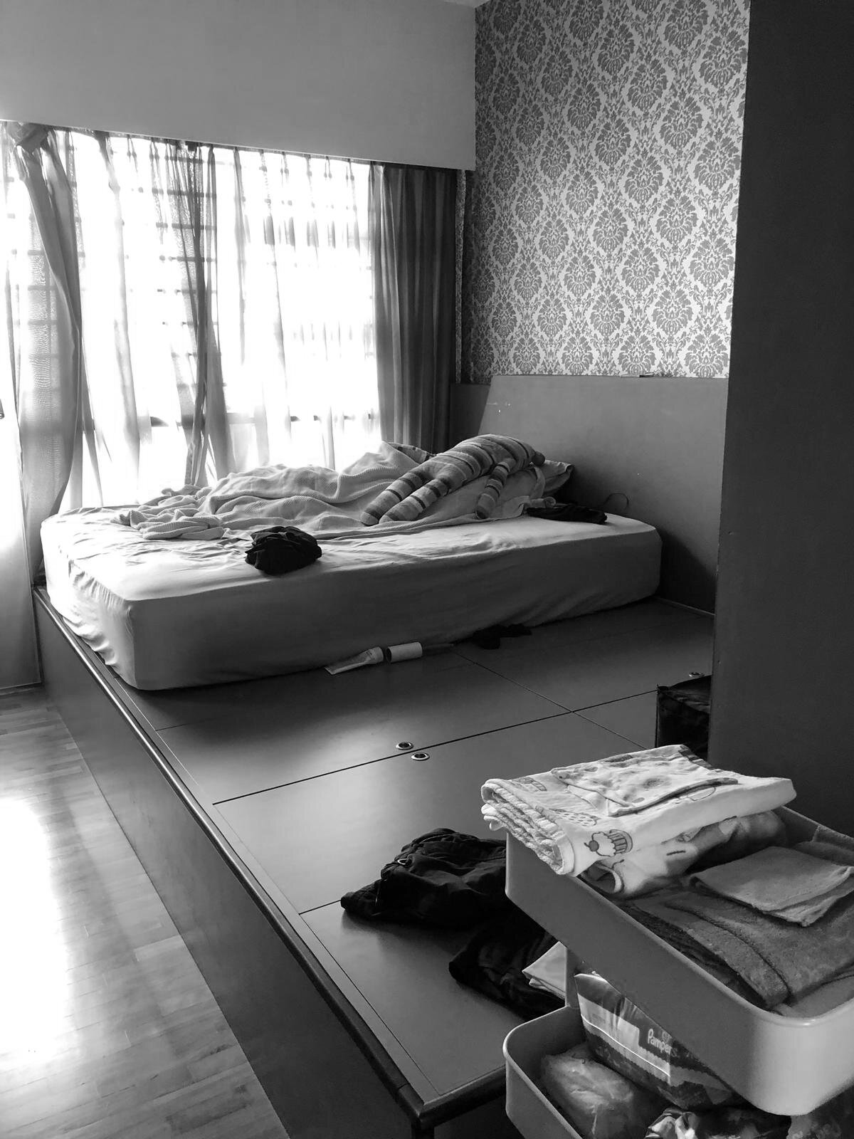 Before: Principal bedroom in Punggol Field by EightyTwo