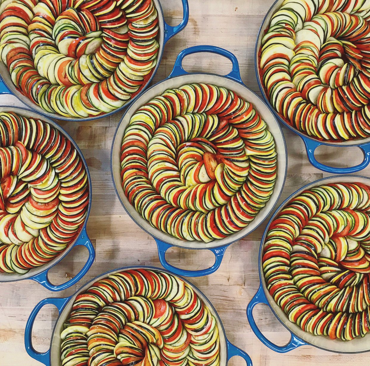 Dominique Crenn's ratatouille   Photo 3 of 13 in 5 Comforting Dishes That Top Chefs Are Making at Home