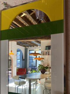 Color, Curves, and Verve Combine at an Architect's Playful Brooklyn Loft