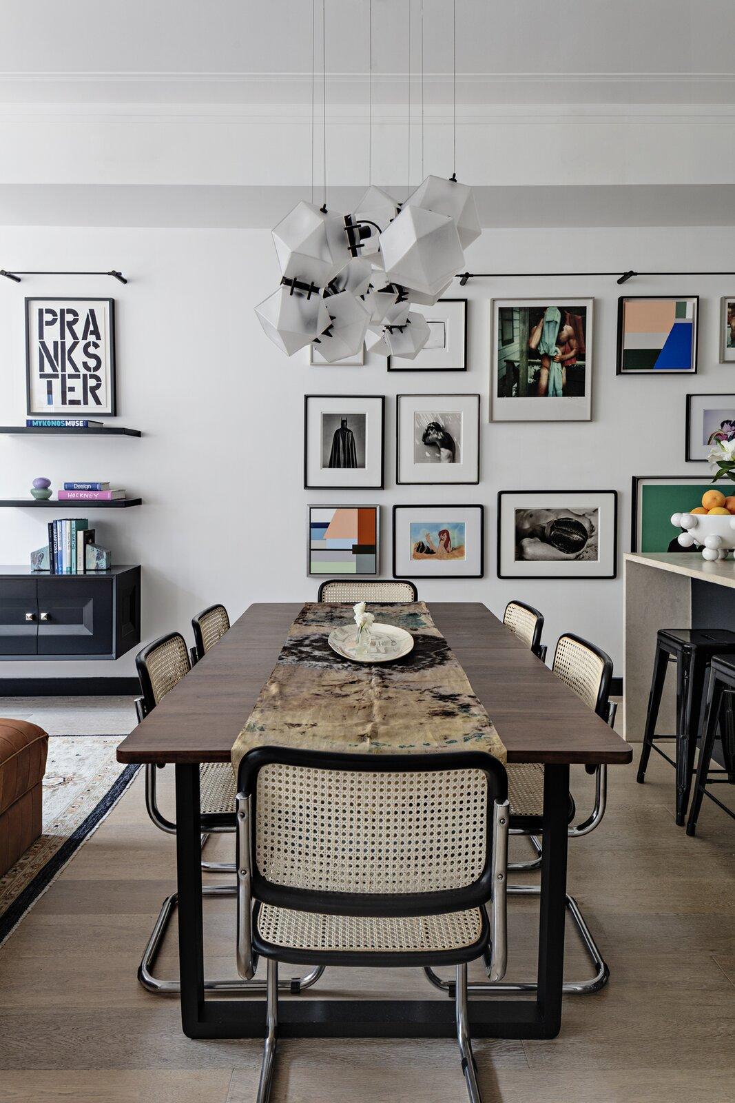 Gramercy Design Soho loft  dining room