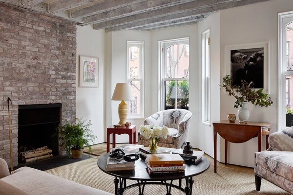 """""""It's unexpected to have the living room above the dining room,"""