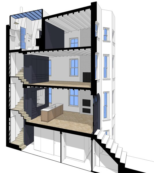 Townhouse Renovation in Cobble Hill
