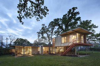 Like the City It's Found In, This Austin Midcentury Modern Screams Eclecticism
