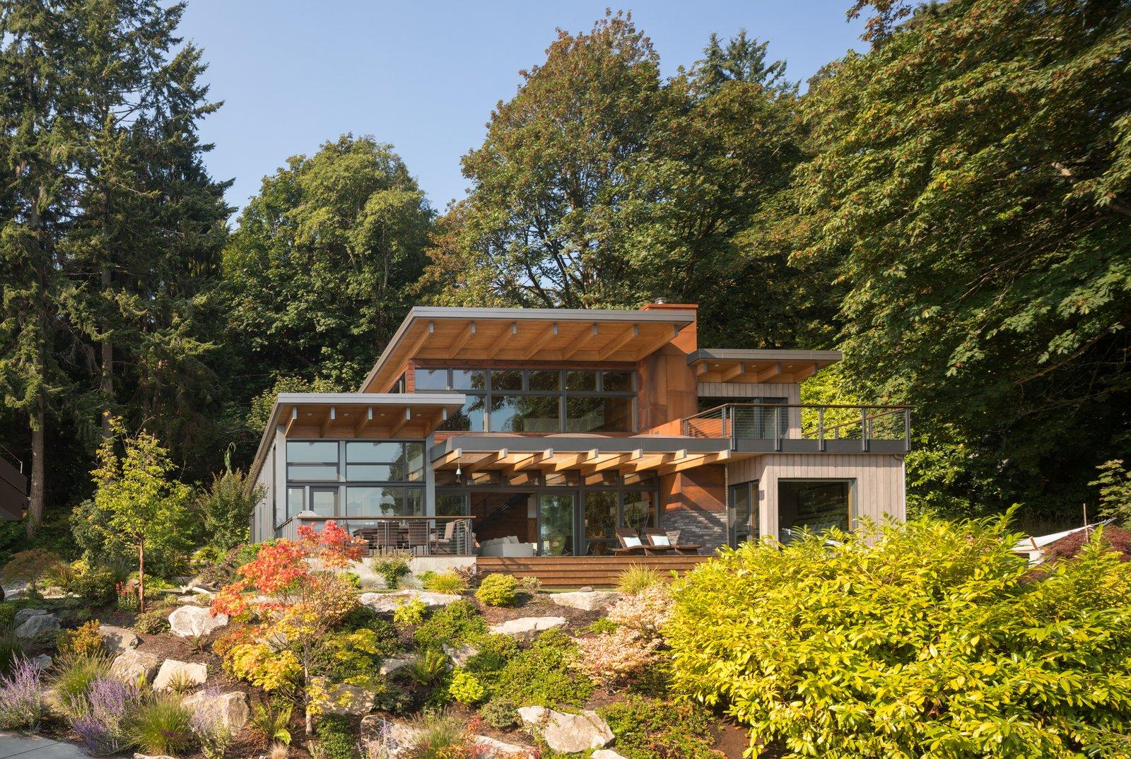 Island Retreat Modern Home In Bainbridge Island
