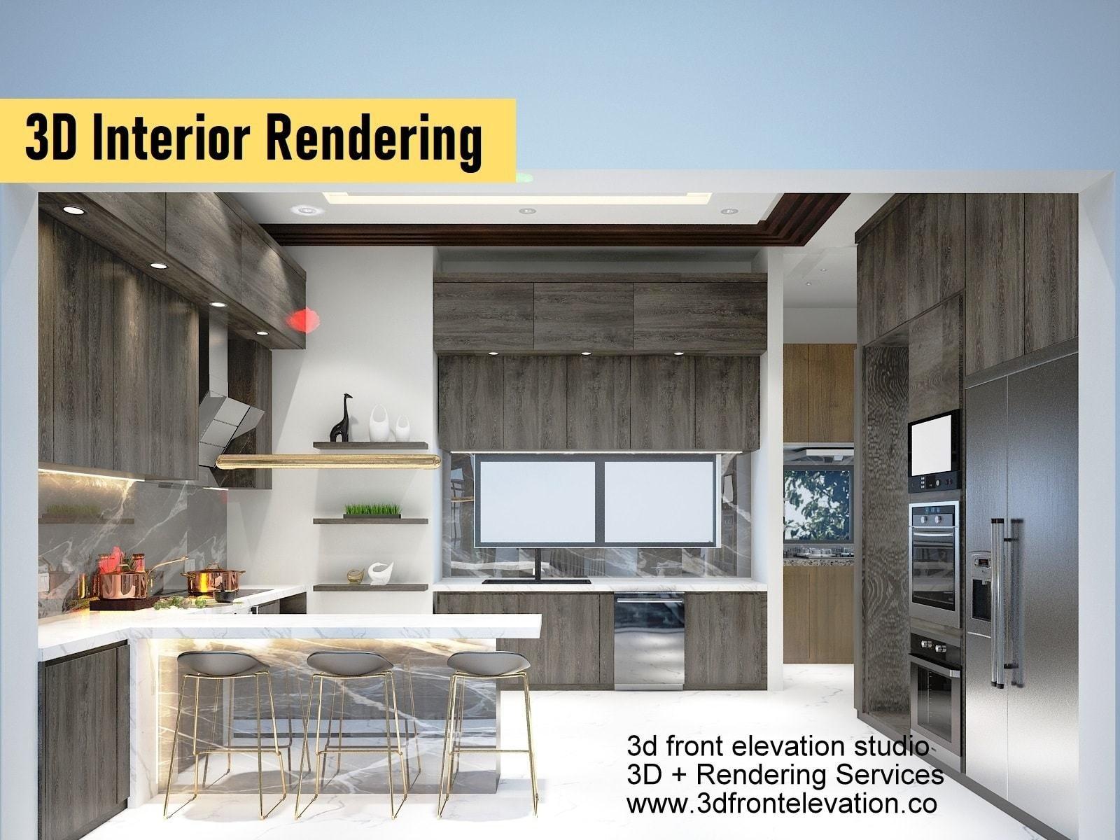 3D Interior Rendering Services in United States , Canada, Uk, UAE,   3D Interior Rendering