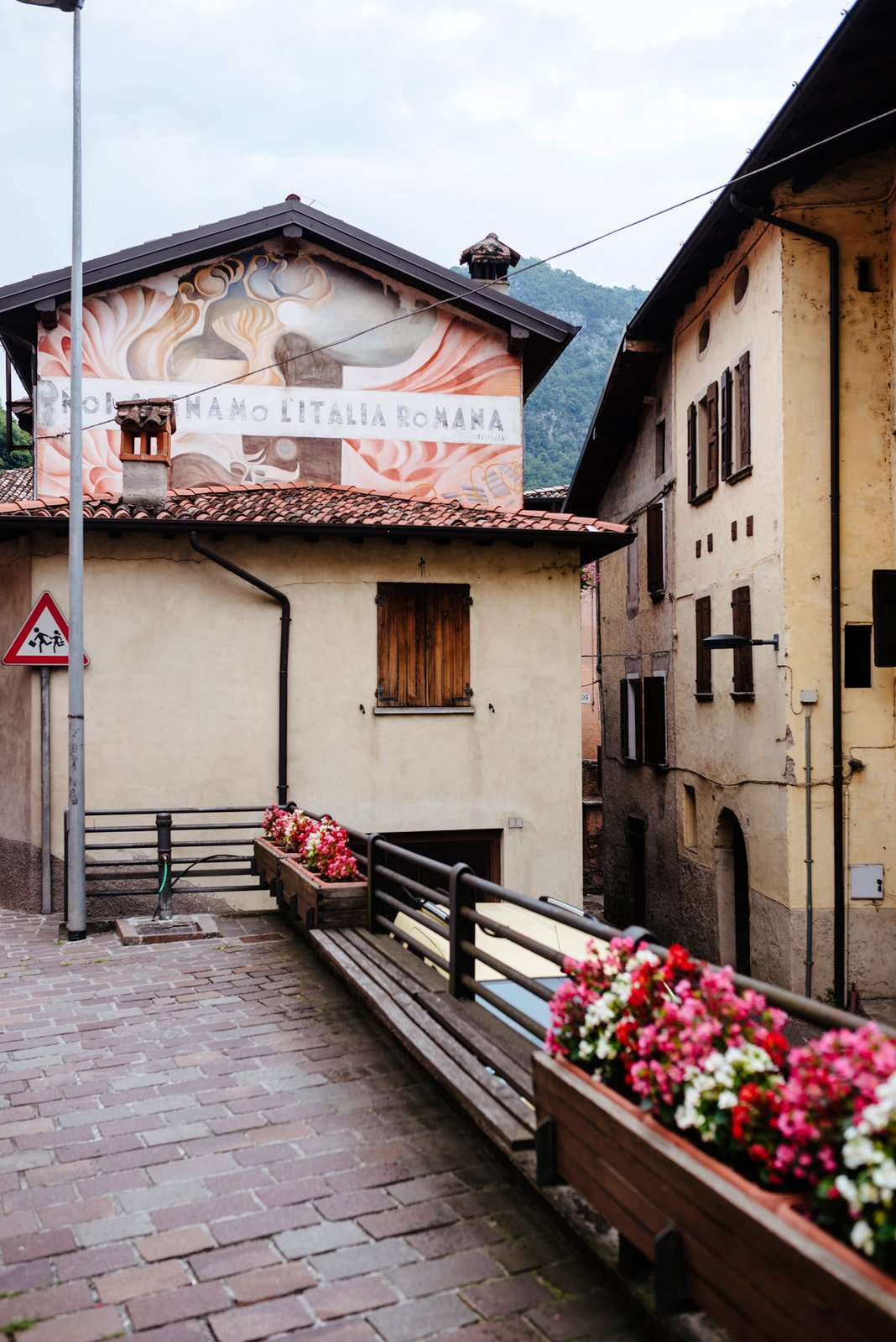 Exterior The town of Lavenone stretches into the Alps. It has a population of 500.  Photo 12 of 20 in Italian Ghost Towns Are Turning Abandoned Buildings Into Alluring Airbnbs from Design apartments in Italian ghost towns