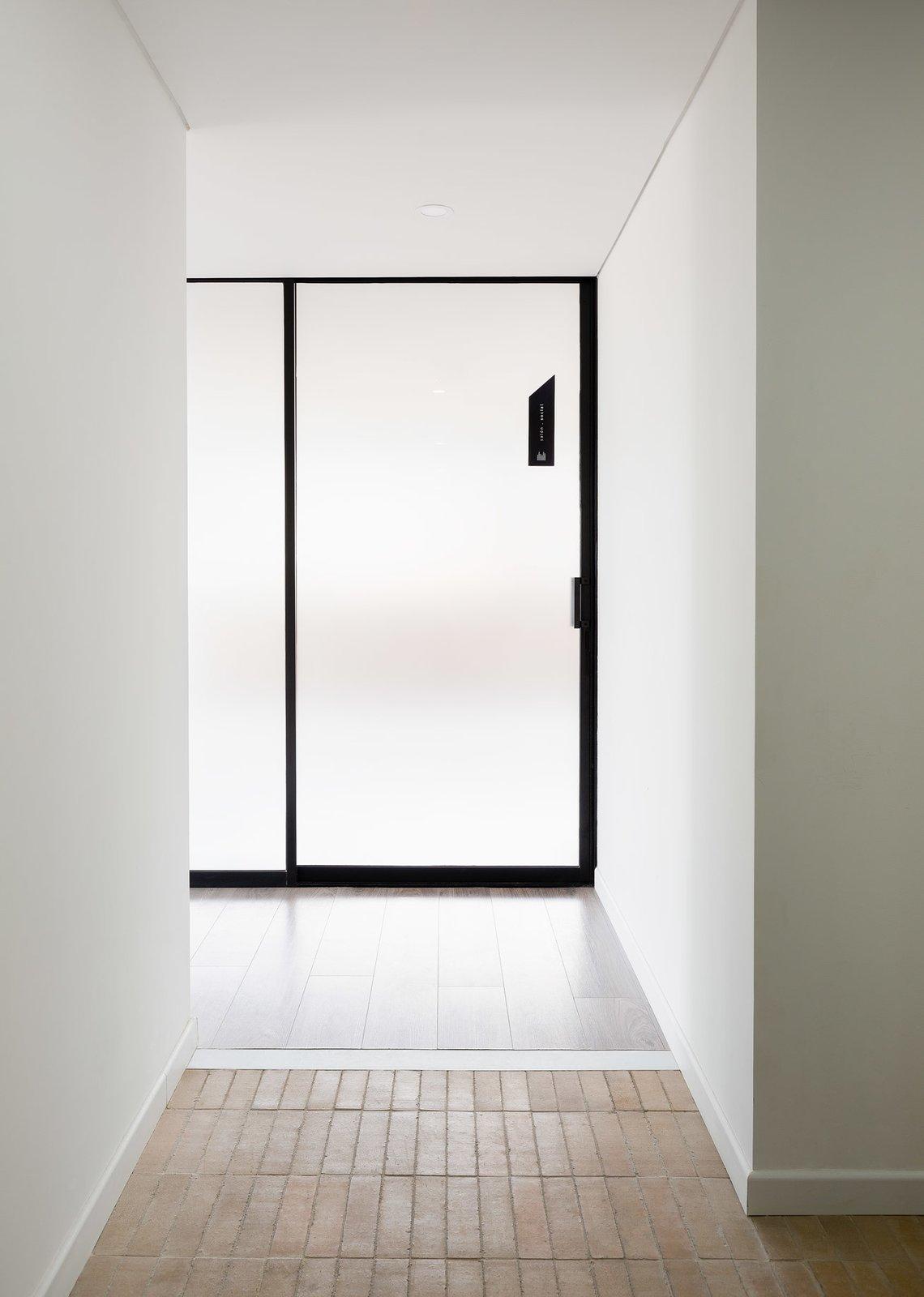 Common room door   Tribeca