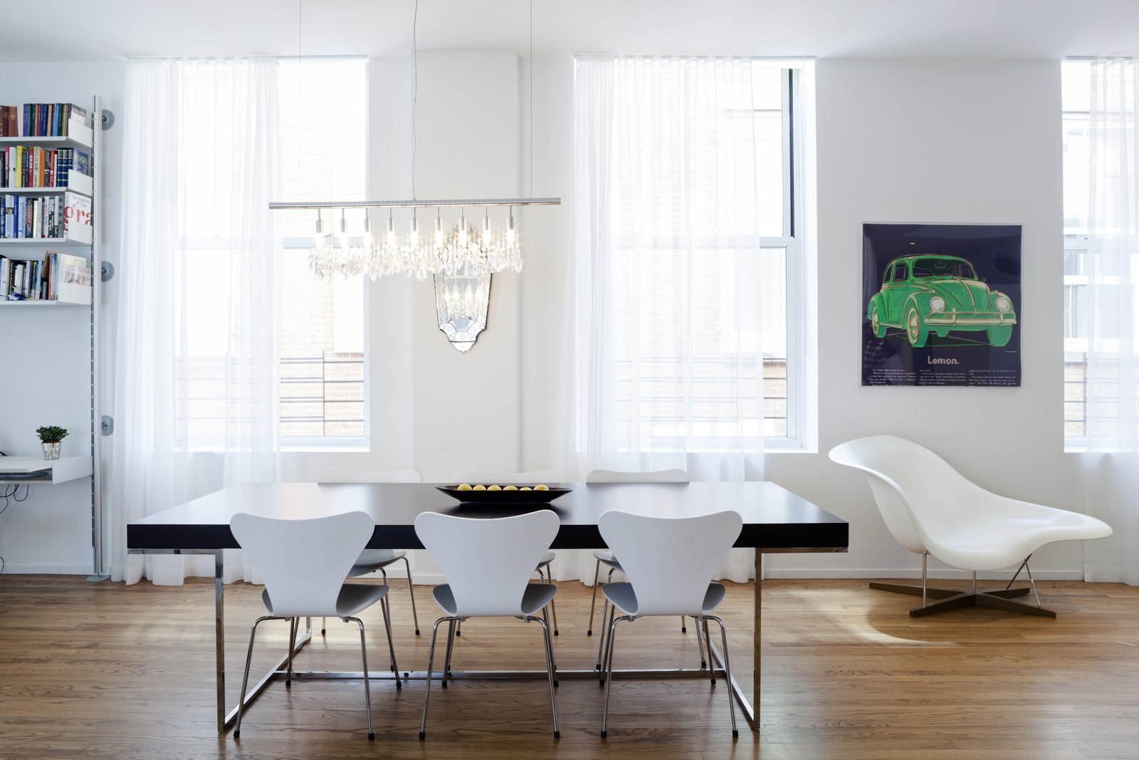 Tribeca Loft by Method Design Architecture and Urbanism dining room