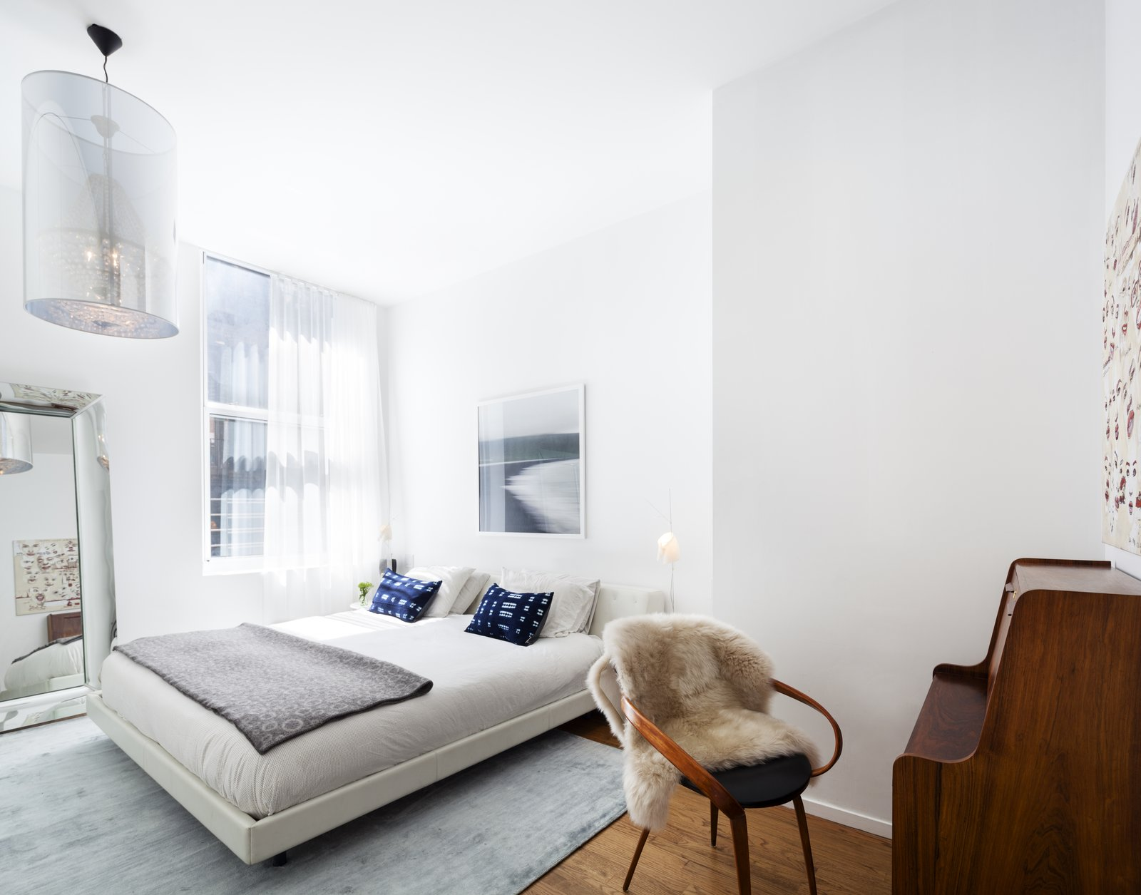 Tribeca Loft by Method Design Architecture and Urbanism bedroom