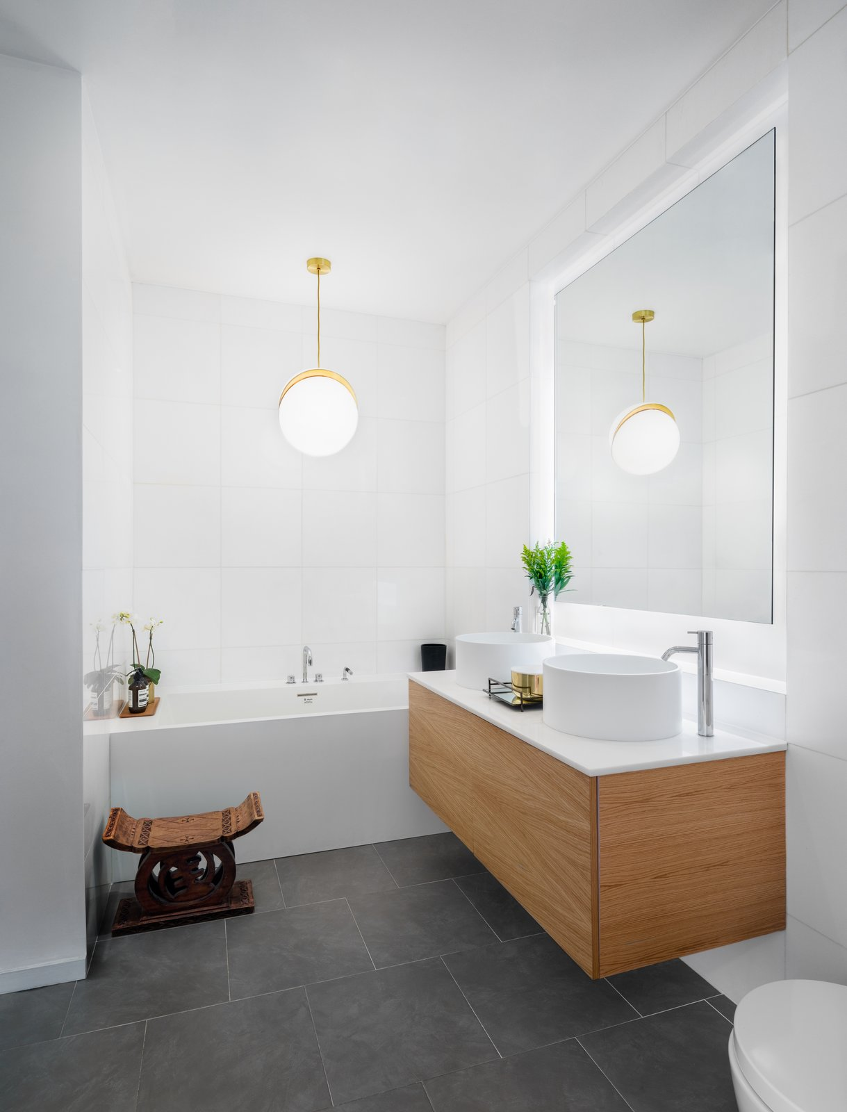 Tribeca Loft by Method Design Architecture and Urbanism bathroom