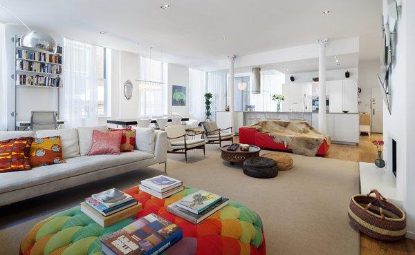 Interior designer Nina Blair blends Ghanaian and Scandinavian influences in her family's Tribeca apartment.