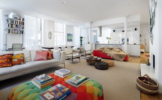 Before & After: A Light-Catching Glass Box Brightens Up a Tribeca Loft