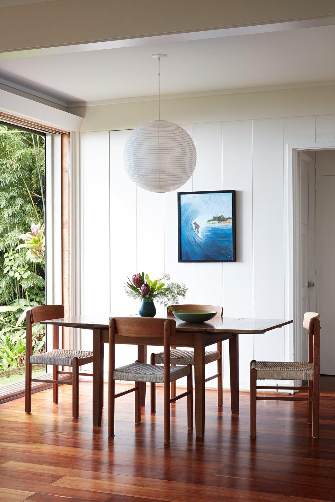 The Tantalus Studio dining room