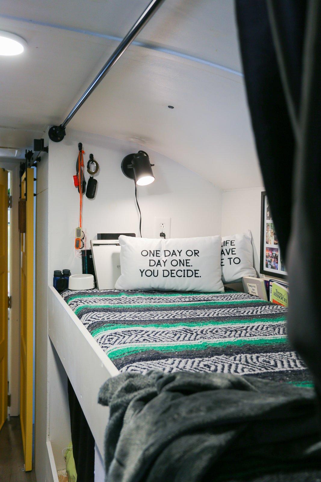 Big Booty Judy school bus bunk room