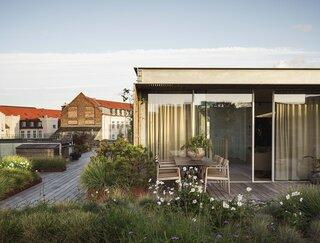 Vipp Owner Jette Egelund's Moody Loft in Copenhagen Crowns a Former Pencil Factory