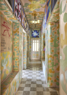 An Italian Futurist's Kaleidoscopic Apartment Welcomes Visitors Into a Vibrant World of Color