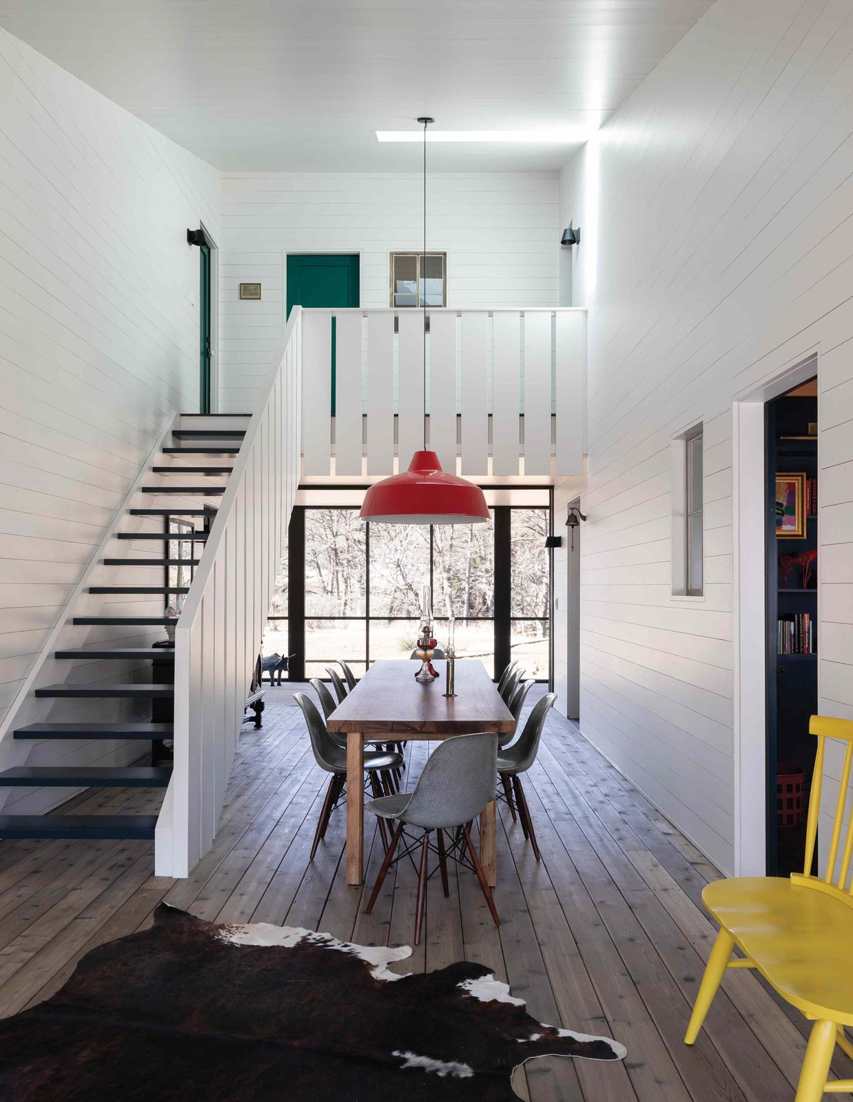 Camp Frio by Tim Cuppett Architects breezeway