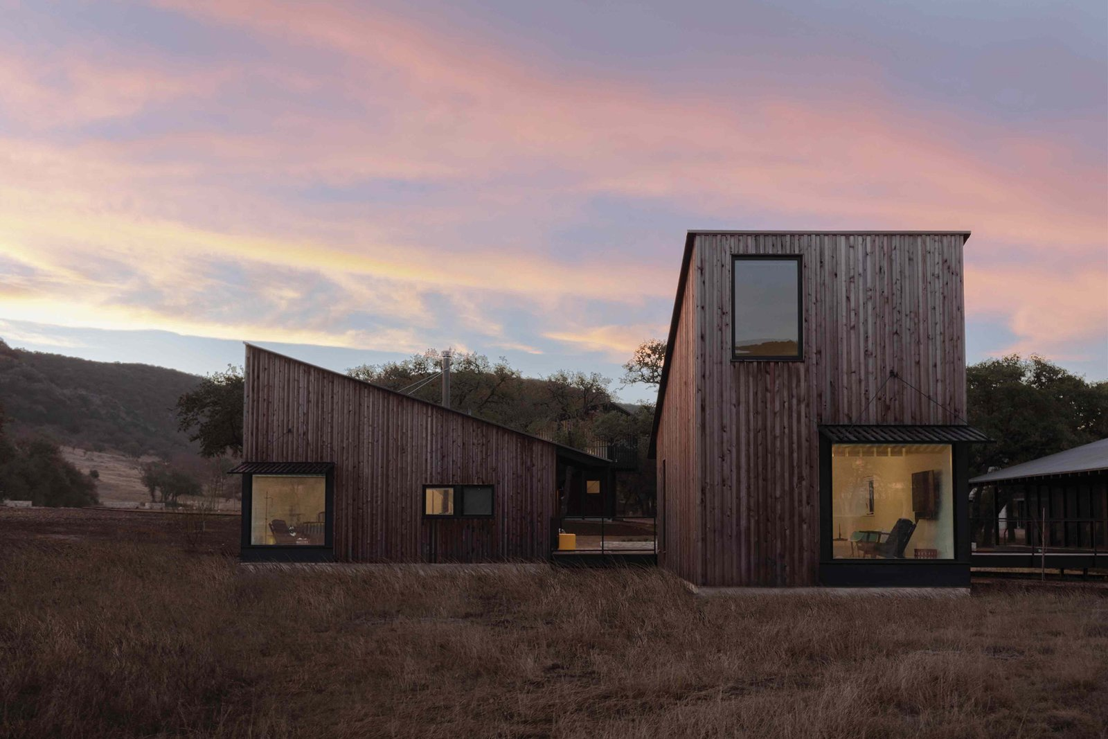 Camp Frio by Tim Cuppett Architects exterior