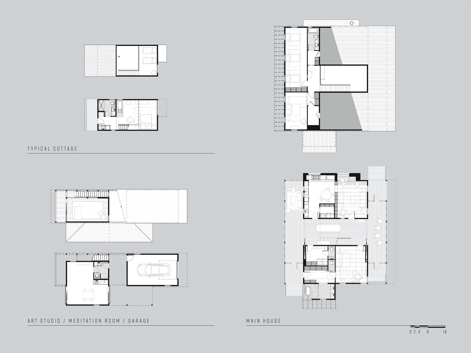 Camp Frio by Tim Cuppett Architects floor plan