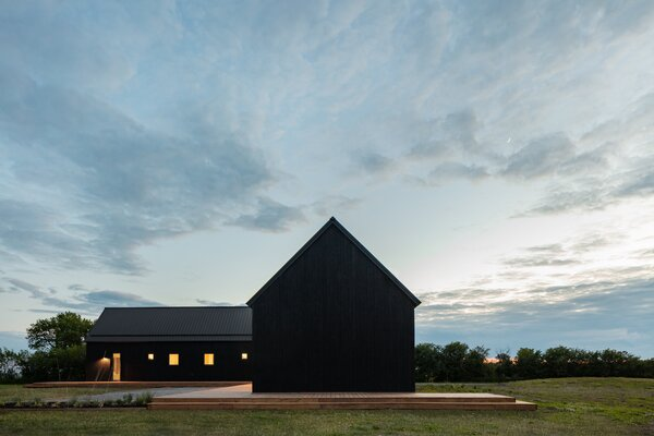 Top 10 Black Gable Homes of 2020: A dramatic take on an archetypal shape, these pitch-roofed residences cut a striking figure.