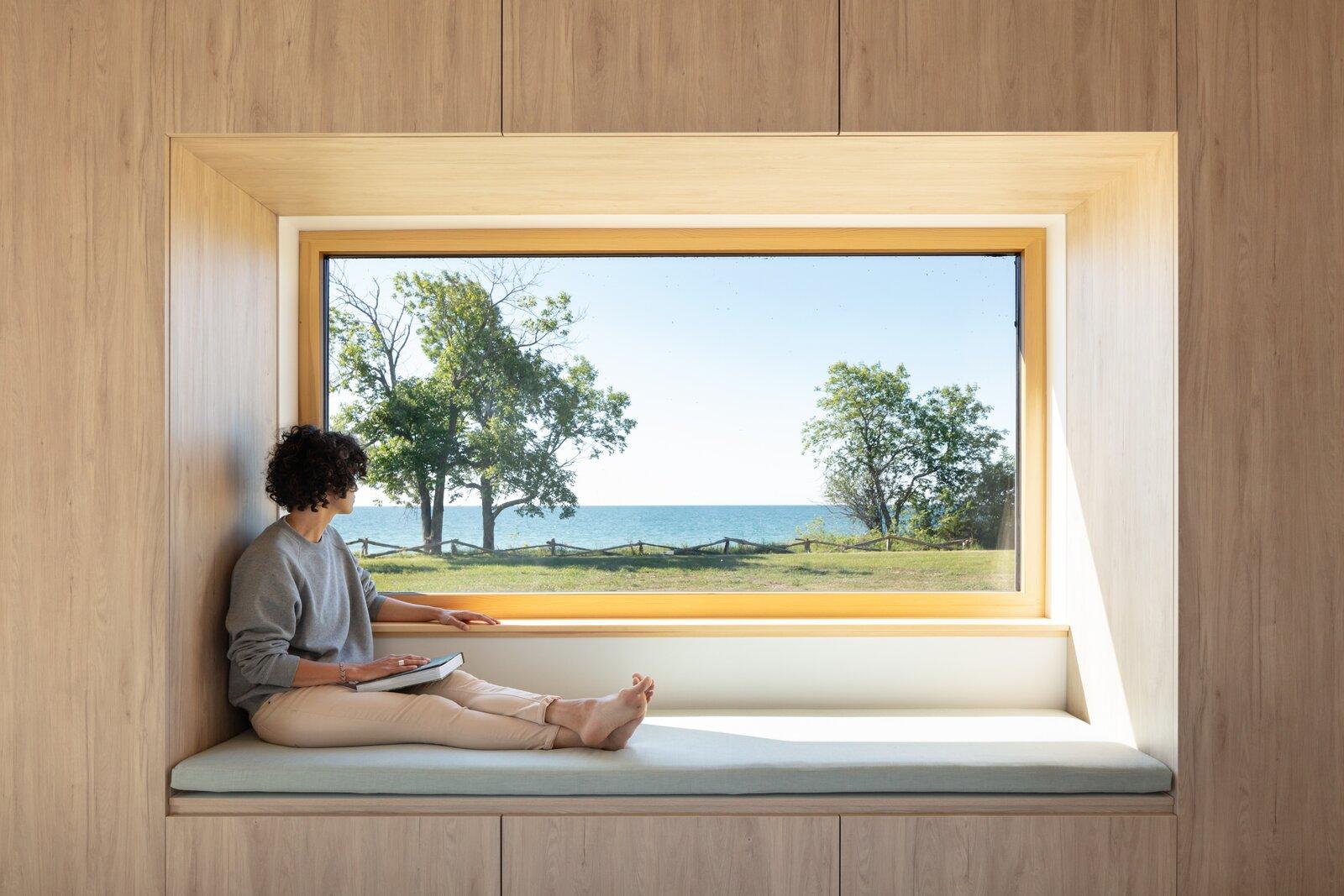 Ravi Handa Architect and AAmp Studio Ell House bedroom