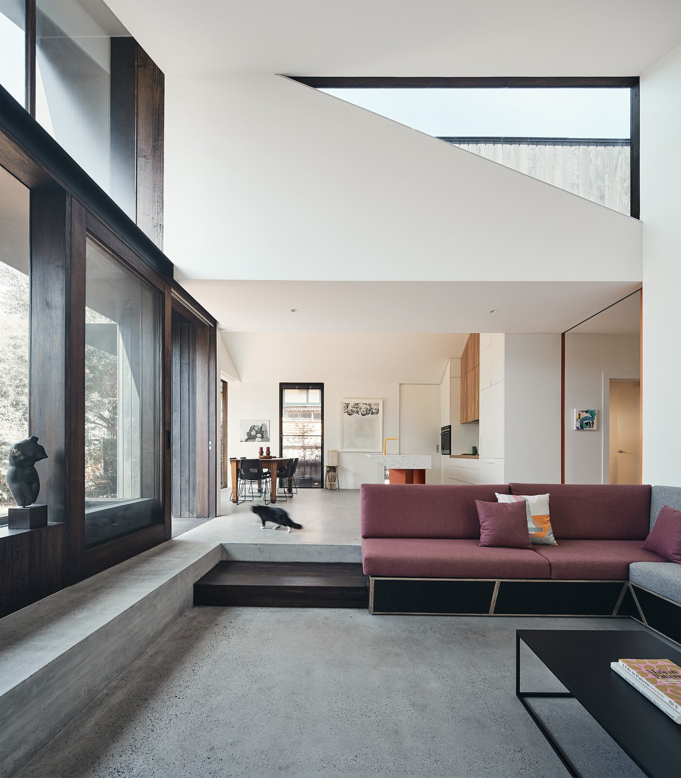 FMD Architects living room Split House