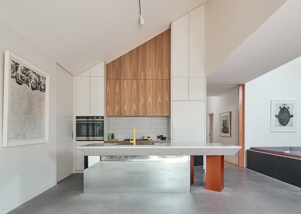 Best 60 Modern Kitchen White Cabinets Subway Tile Backsplashes Dwell