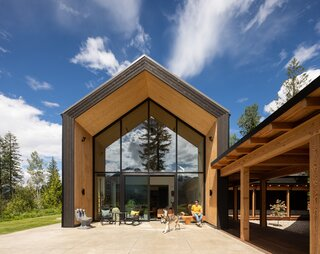 Extreme Skier Lexi duPont's New Base Camp Is a Passive House in British Columbia
