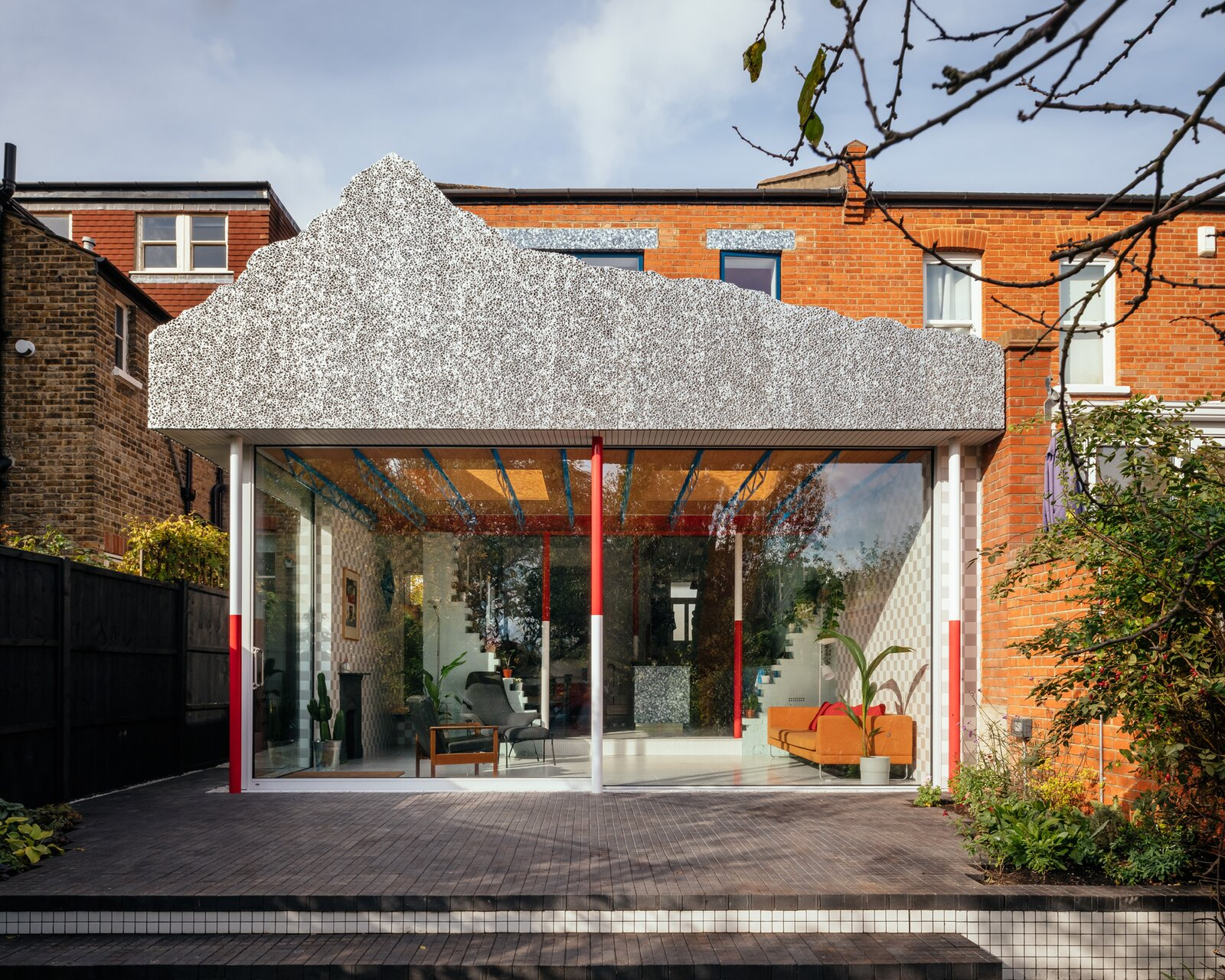 Before & After: A Faux Mountain Inspired by Disneyland Caps This Riotous Renovation in London