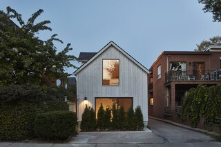 An Old Barn in Toronto Enters Its Heyday as a Highly Efficient Laneway Home