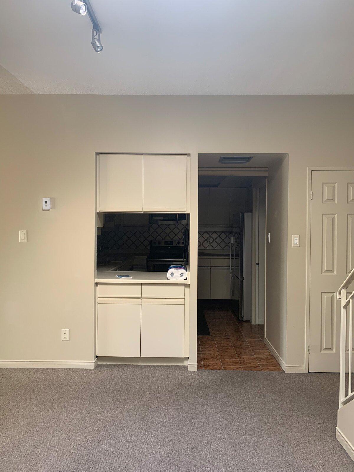 Before: St. Lawrence Renovation kitchen