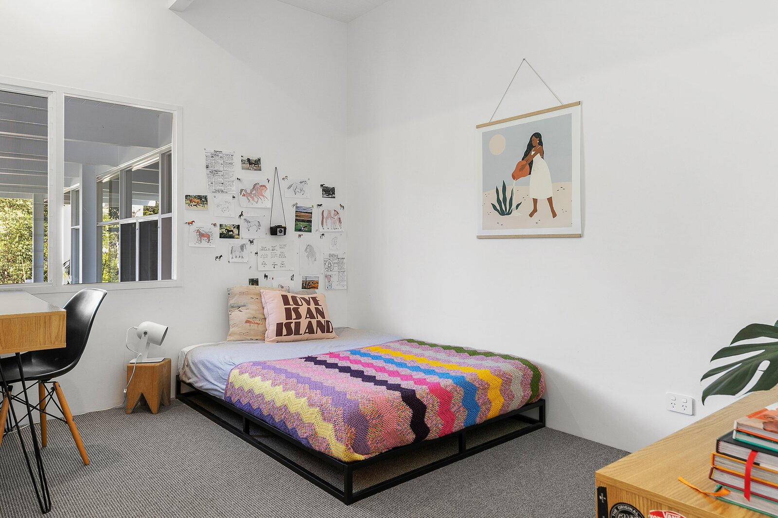 Suffolk Park Modern bedroom