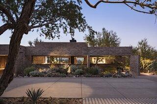A Breakthrough Renovation Turns a Brick Home Into a Desert Oasis