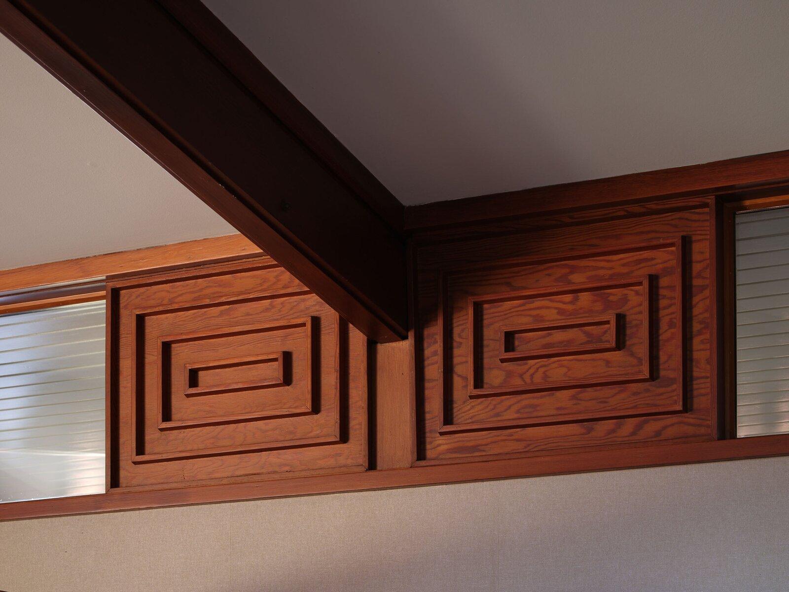 The Fletcher House beam detail