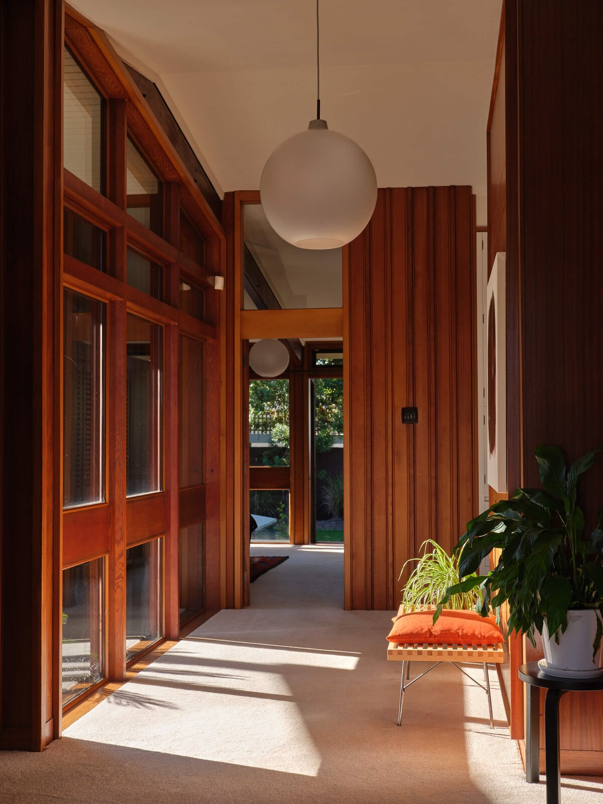The Fletcher House hallway