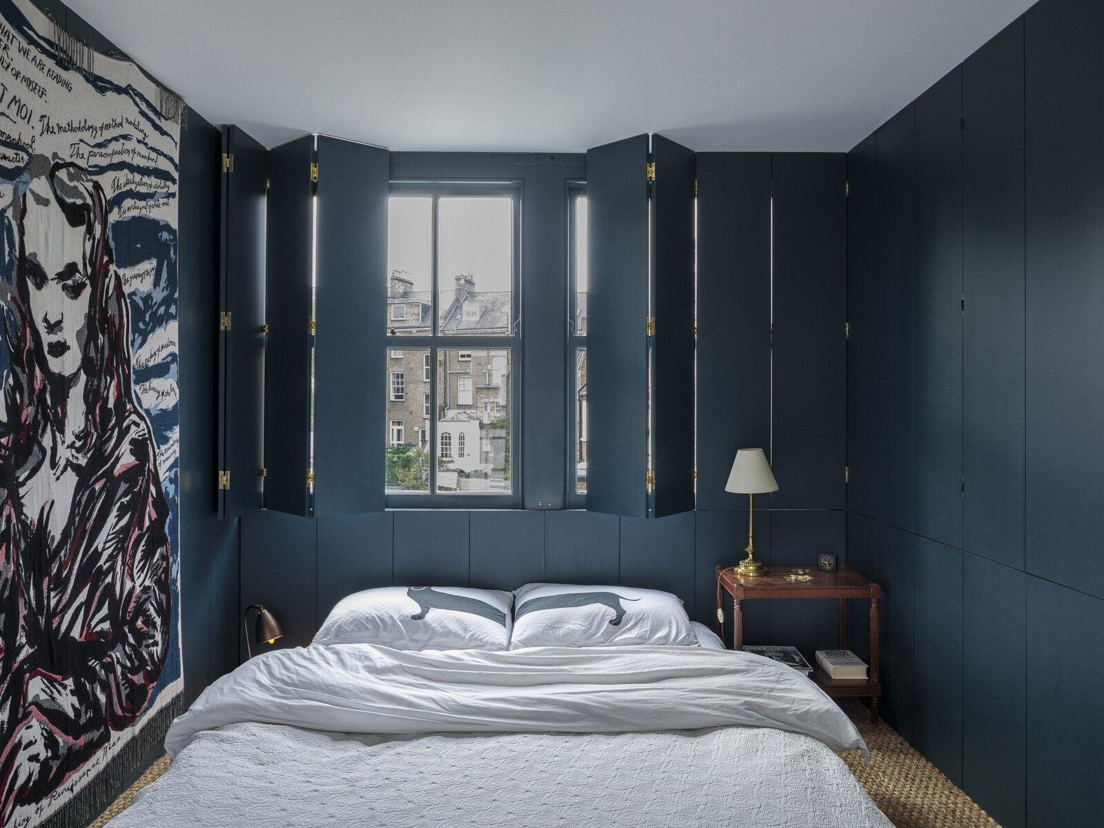 Bedroom, Carpet Floor, Wardrobe, and Bed Master bedroom on the third floor  Primrose Hill