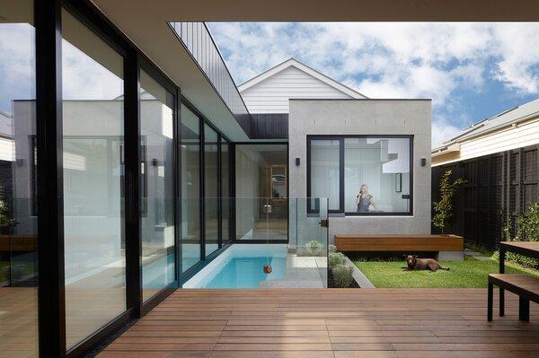 Extension & Courtyard Facing Study