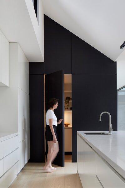 Hidden Kitchen Pantry Opening