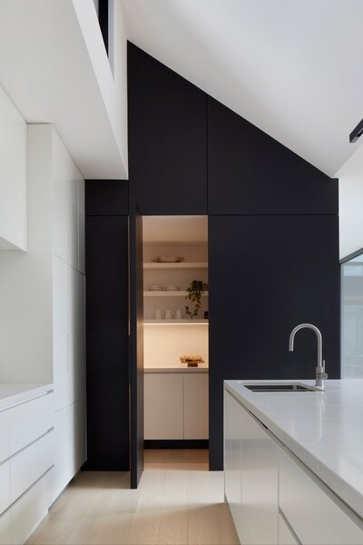 Hidden Kitchen Pantry Opened