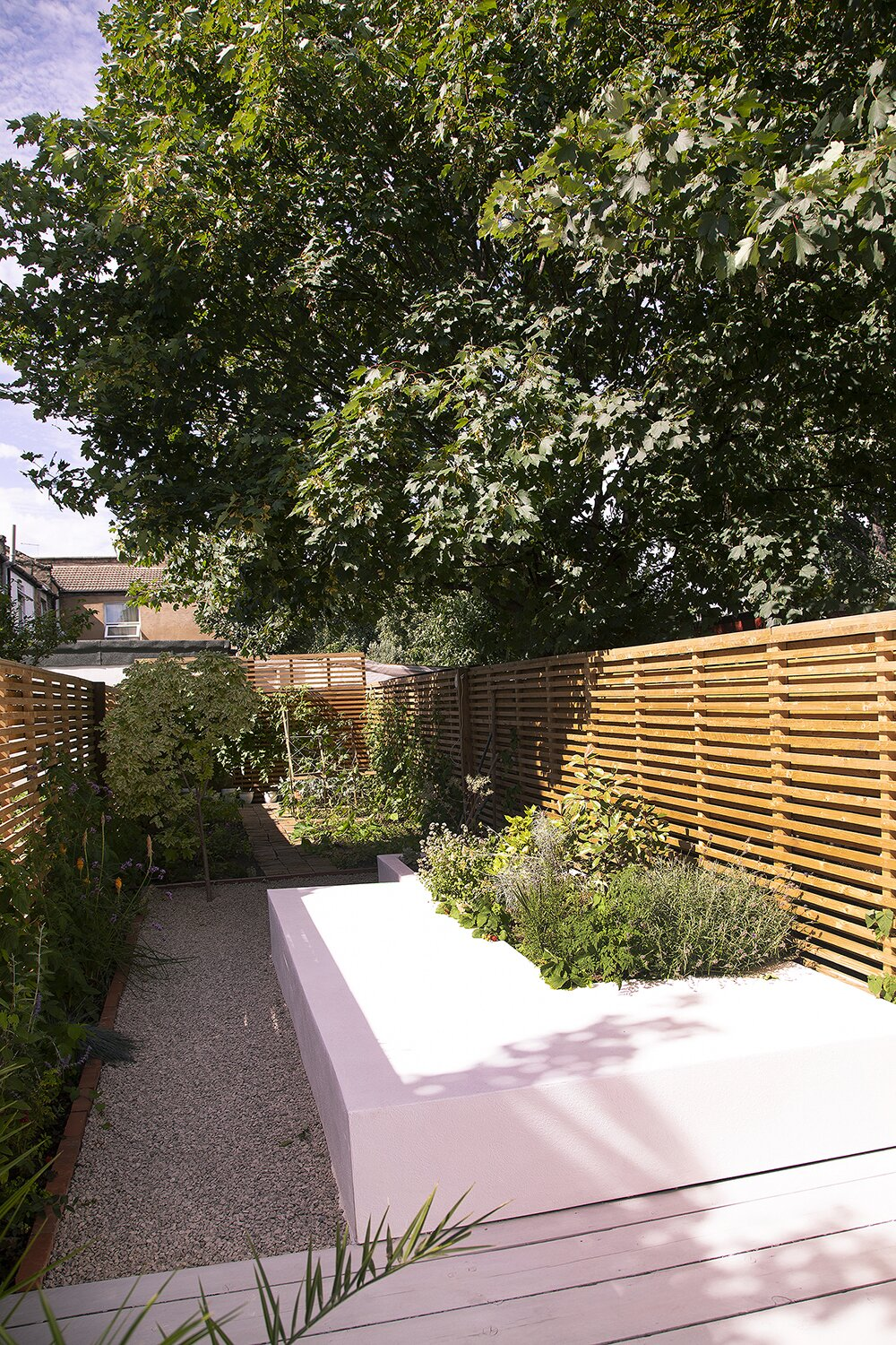 Outdoor, Garden, Landscape, Trees, Vegetables, Wood, Hardscapes, Flowers, Raised Planters, Wood, and Shrubs Garden  Outdoor Vegetables Landscape Wood Garden Photos from Studio Cottage
