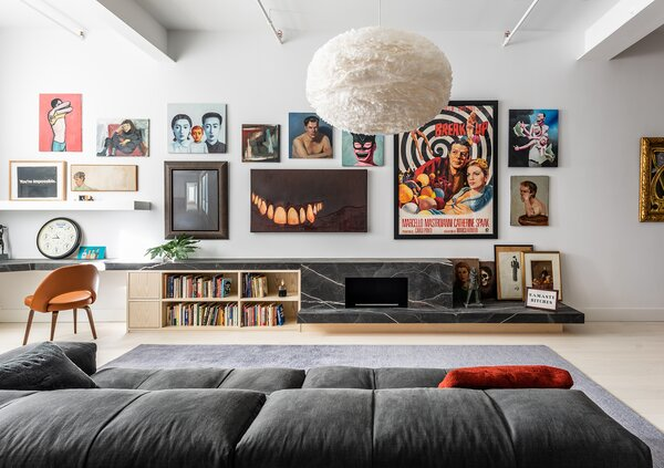 Worrell Yeung fuses the Manhattan apartment's historic details with the owners' vibrant collection of art and ephemera—and honors a few eccentric asks.