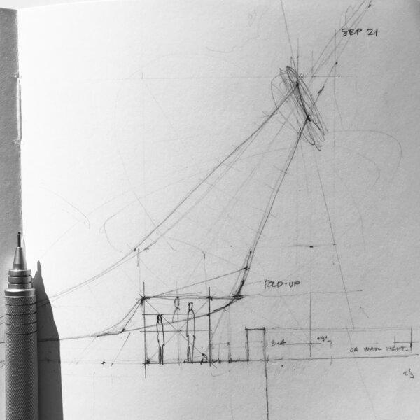 Wiikiaami Initial Sketch  by Chris T. Cornelius