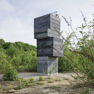 "A Modern Dark Tower - Photo 5 of 5 - #concrete<span> <a href=""/discover/tower"">#tower</a></span><span> <a href=""/discover/moderntower"">#moderntower</a></span><span> <a href=""/discover/sauna"">#sauna</a></span><br>#modulorbeat<span> <a href=""/discover/exterior"">#exterior</a></span>"