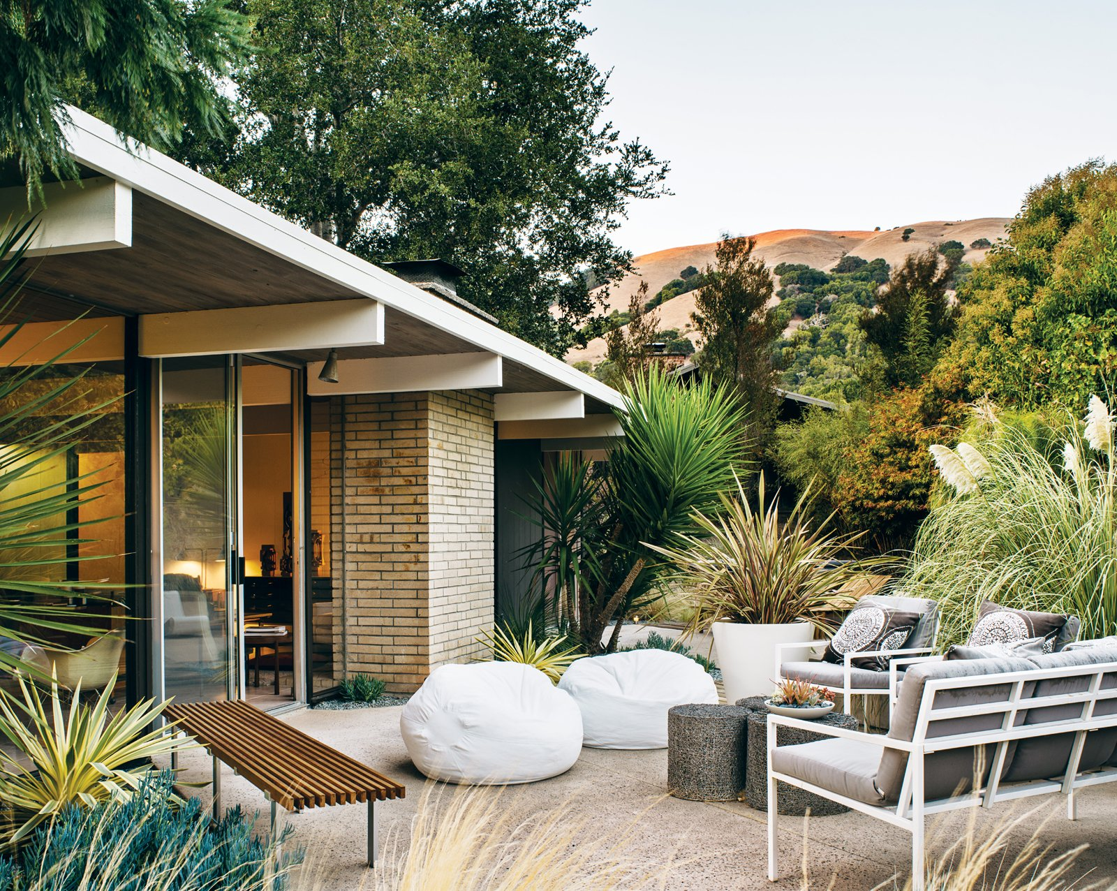 Modern Furniture Fit For A Classic Eichler Dwell